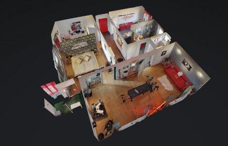 3D Ansicht vom sexhotel gln