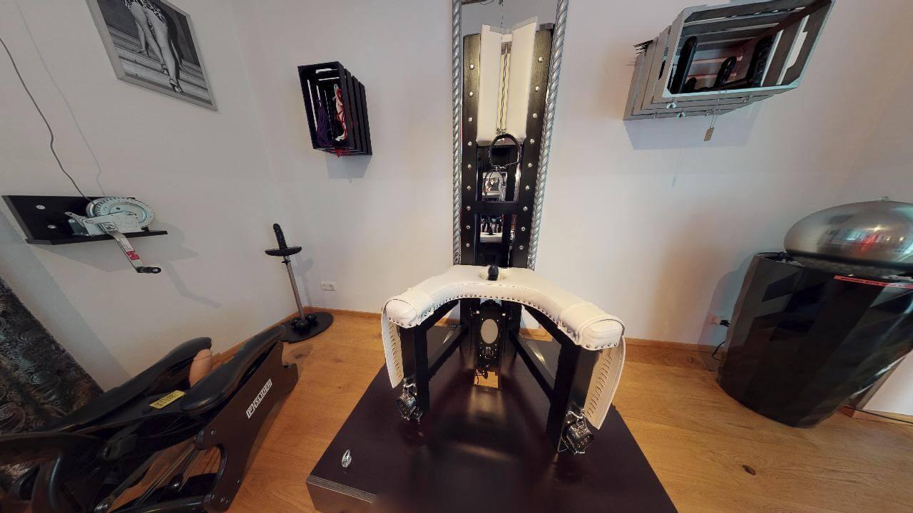 Sklavenstuhl & Fickmaschine venus 2000