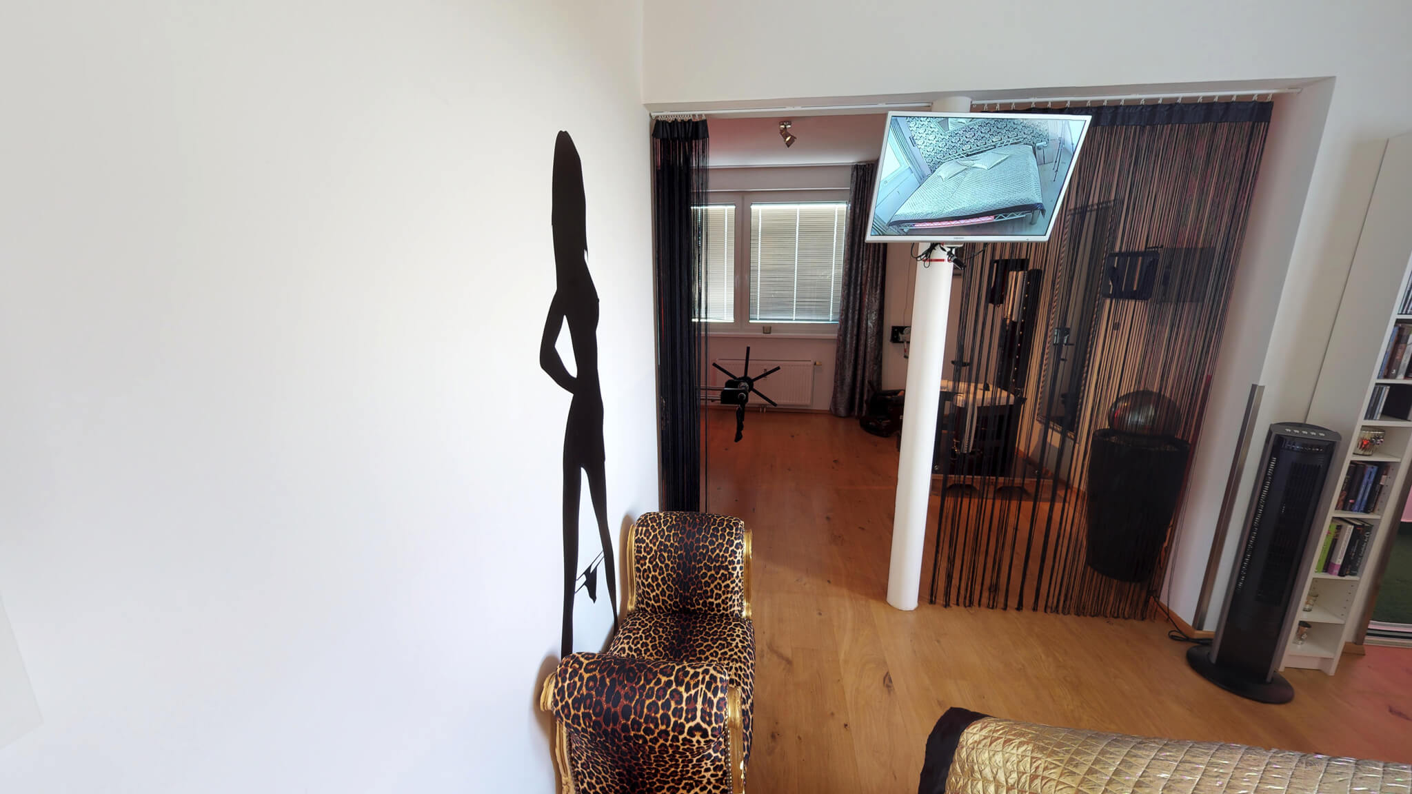 Livecam im Schlafzimmer für private Sex show